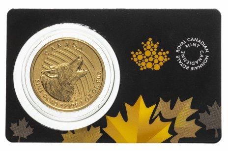 """купить 200 dollars (долларов) 2014 UNC """"Вой волка"""" Канада (Елизавета II)"""