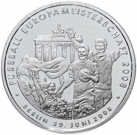 """купить Жетон """"Чемпионат Европы по футболу, Германия"""" 2008"""
