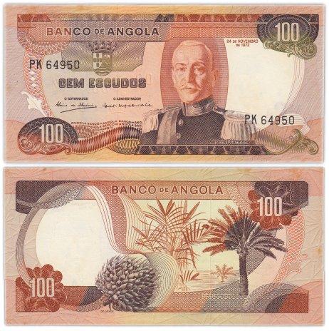 купить Ангола 100 эскудо  1972 (Pick 101)