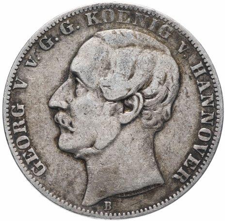 купить Германия (Ганновер) 1 союзный талер (vereinsthaler) 1863 B