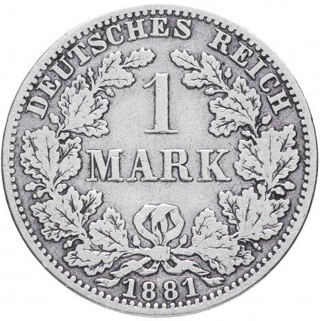 """купить Германия 1 рейх марка 1881 """"А"""""""