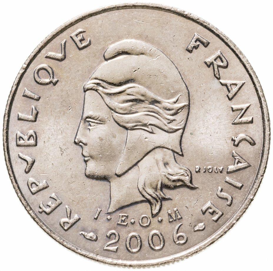 купить Французская Полинезия 10 франков (francs) 2006