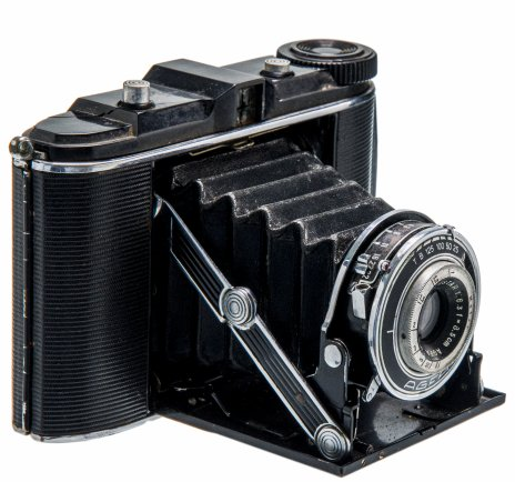 "купить Фотоаппарат ""Agfa Jsolette"", металл, пластик, фирма ""Agfa Kamerawerk AG"", г. Мюнхен, Германия, 1936-1937 гг."