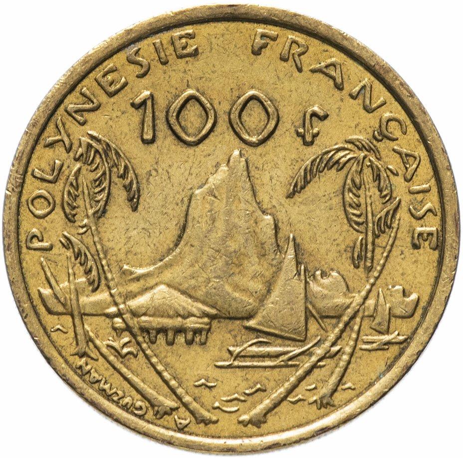 купить Французская Полинезия 100 франков 2006-2019, случайная дата