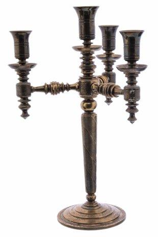 купить Канделябр на 4 свечи, бронза, Западная Европа, 1920-1950 гг.