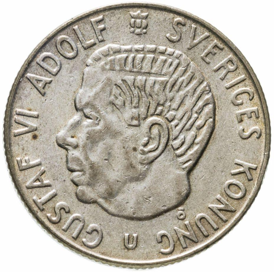 купить Швеция 1 крона 1966