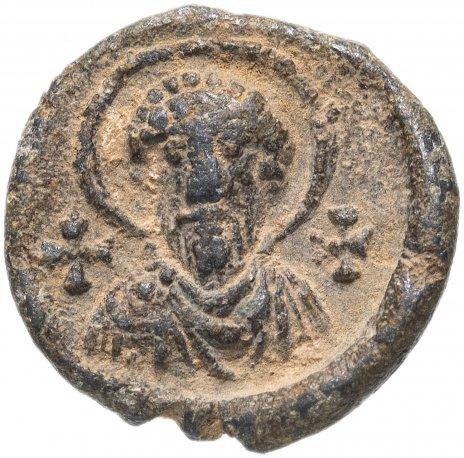 купить Византийская империя, анонимный выпуск, VIII-XI век, моливдовул.(Свинцовая пломба) Фома