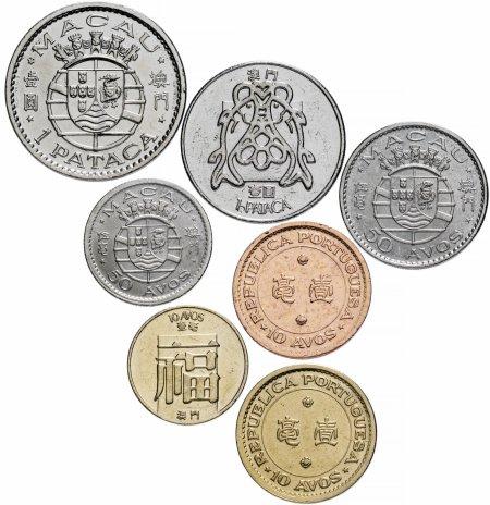 купить Макао набор монет 1952-1982 (7 шт.)