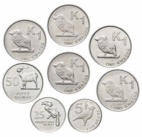 купить Замбия набор из 8 монет 1992-2017