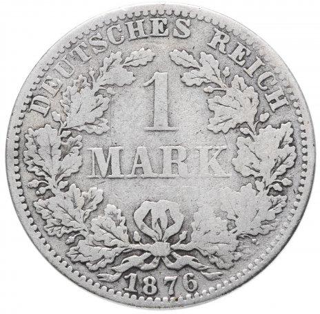 купить Германия (Германская Империя) 1 марка 1876 A