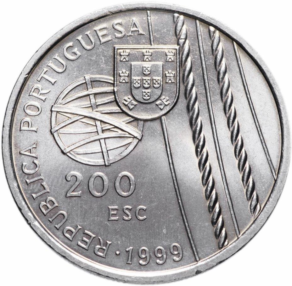 """купить Португалия 200 эскудо (escudos) 1999   """"Смерть в море"""""""