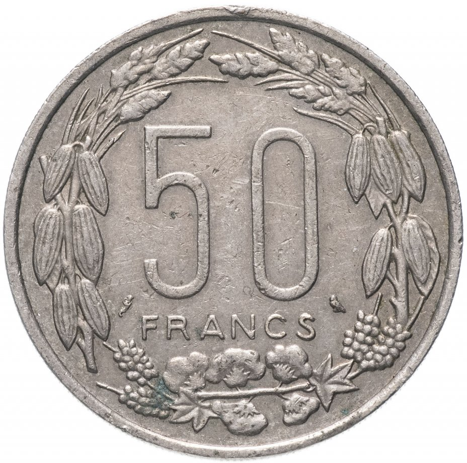 купить Экваториальная Африка 50 франков 1961