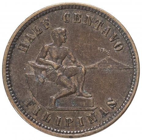 купить Филиппины (Колония США) 1/2  сентаво 1904