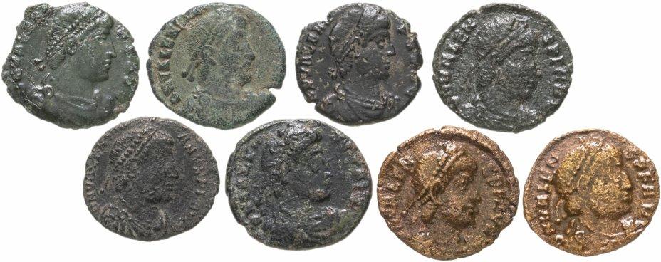 купить Римская империя, Валент, 364-378 годы, нуммий. (8 Монет)
