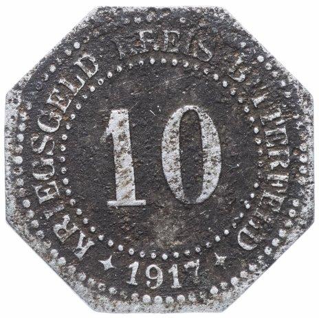 купить Германия, Саксония, Биттерфельд 10 пфеннигов  1917 нотгельд
