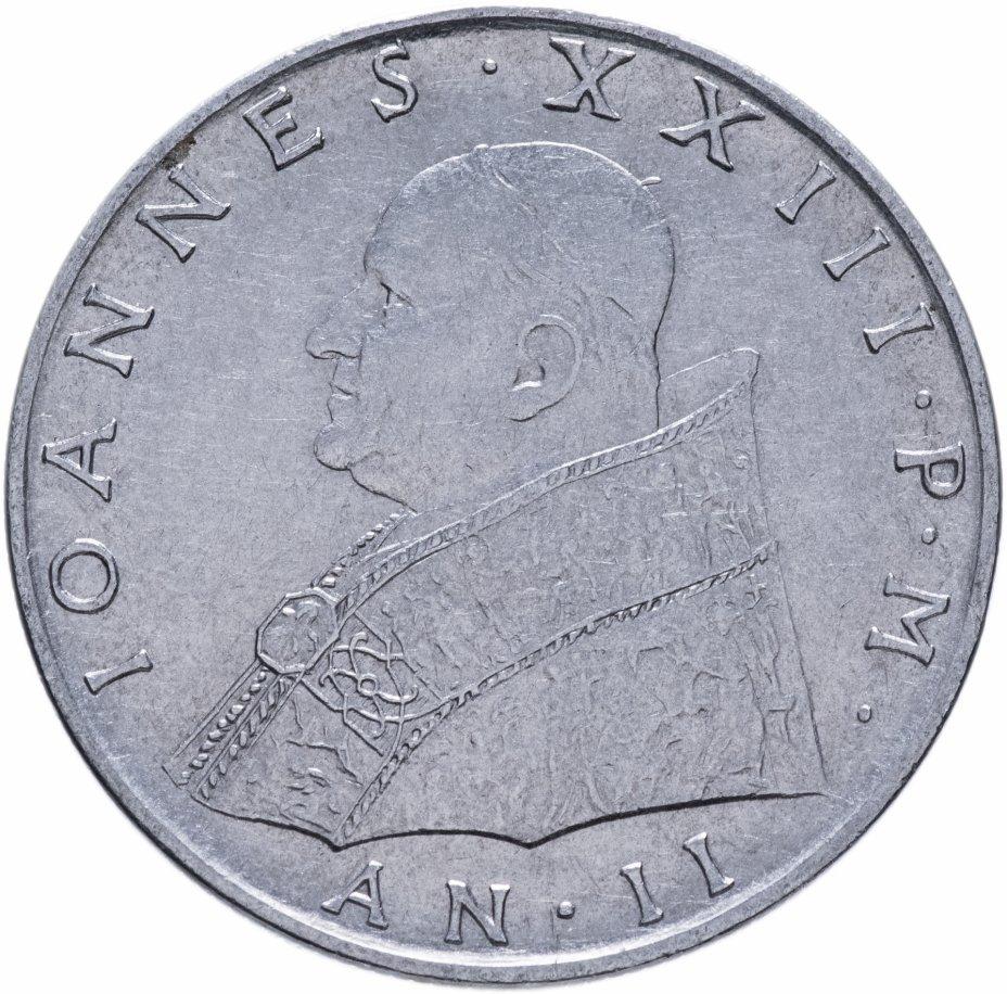 купить Ватикан 100лир (lire) 1960