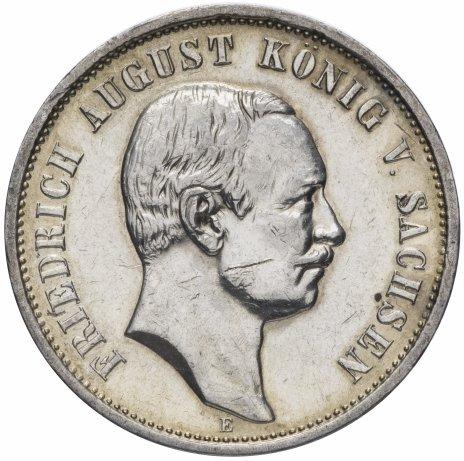 купить Германская Империя (Саксония) 3 марки 1911
