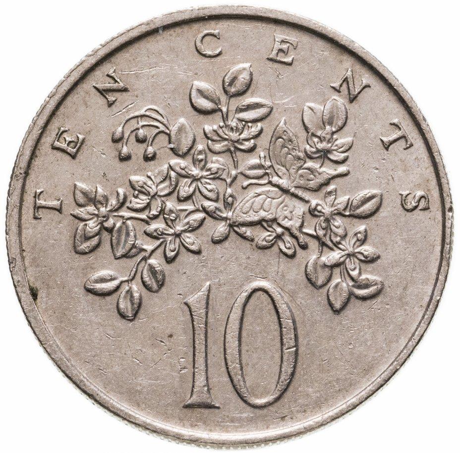 купить Ямайка 10 центов (cents) 1986