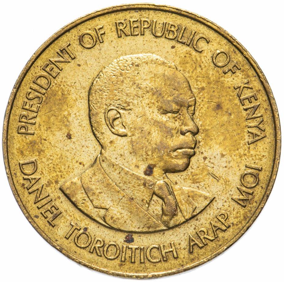 купить Кения 10 центов (cents) 1978-1991, случайная дата