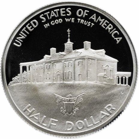 """купить США 1/2 доллара 1982 """"250 лет со дня рождения Джорджа Вашингтона"""" Proof"""