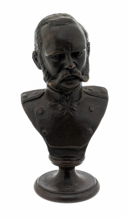"""купить Бюст """"Император Александр II"""", бронза, литье, Россия, 2020-2021 гг."""