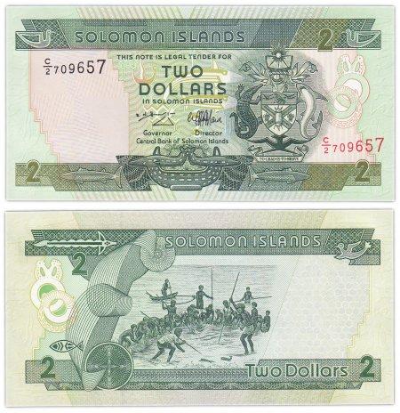 купить Соломоновы Острова 2 доллара 2004