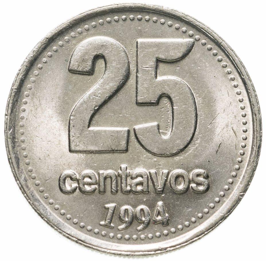 купить Аргентина 25 сентаво (centavos) 1994