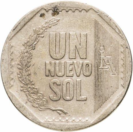 купить Перу 1 новый соль (nuevo sol) 2010