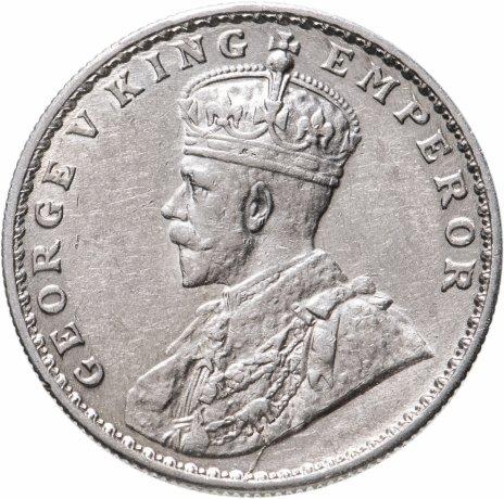 """купить Индия (Британская) 1 рупия (rupee) 1918 ♦ знак монетного двора: """"♦"""" - Бомбей"""