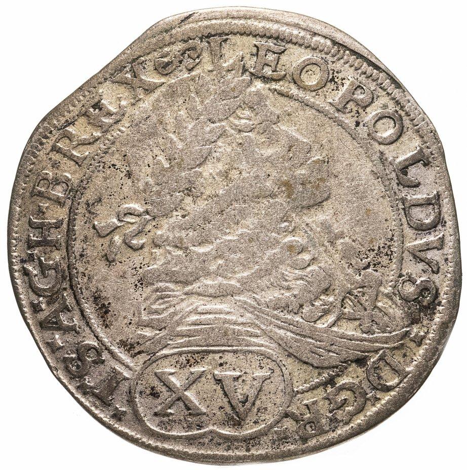 купить Венгрия 15 крейцеров (krajczar) 1675