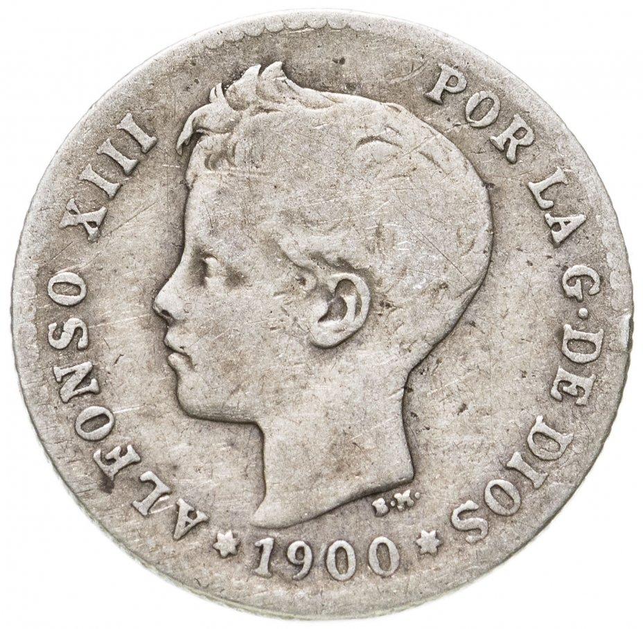 купить Испания 50 сентимо 1900 год (Альфонсо XIII)