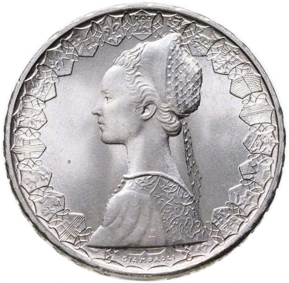 купить Италия 500лир (lire) 1992