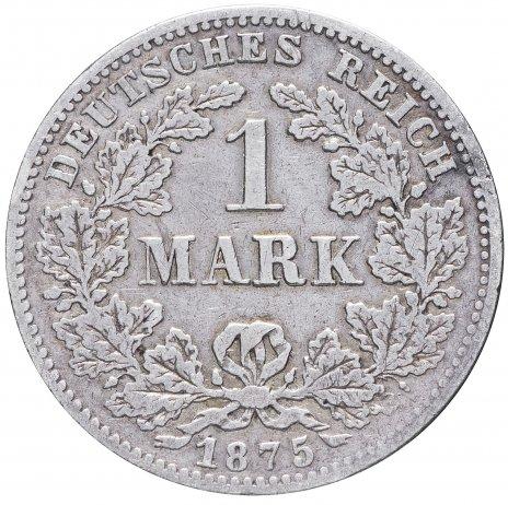 """купить Германия 1 рейх марка 1875 """"G"""""""