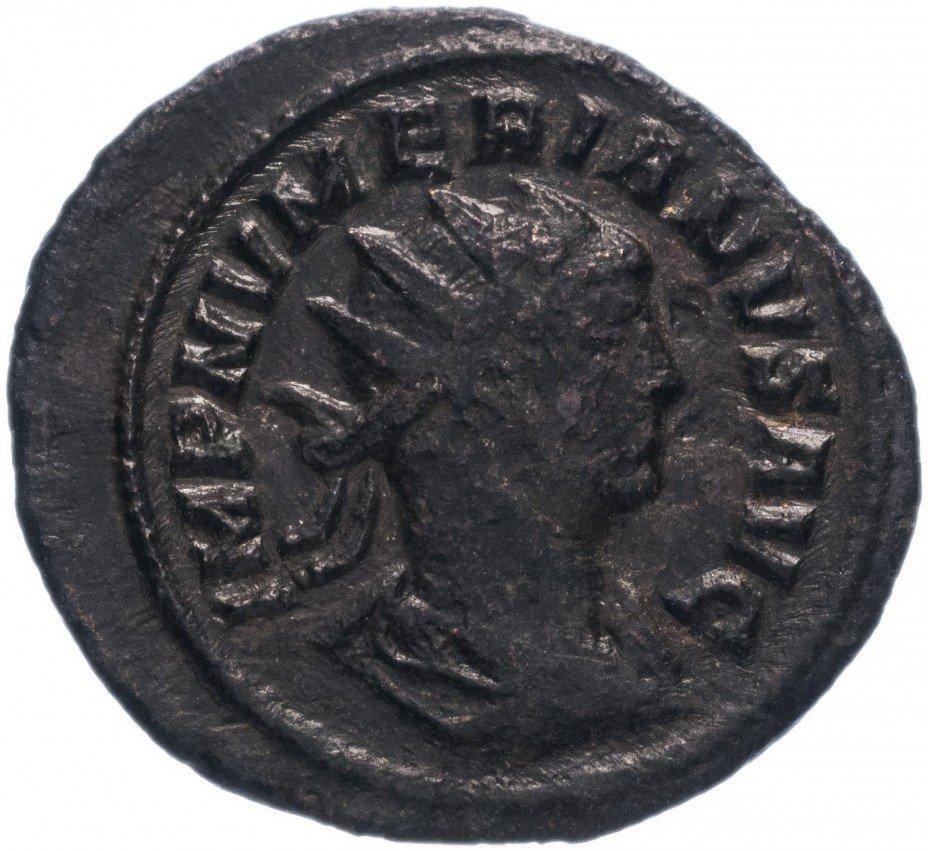 купить Римская Империя Нумериан 283–284 гг антониниан (реверс: Юпитер стоит, в правой руке - Виктория на шаре)