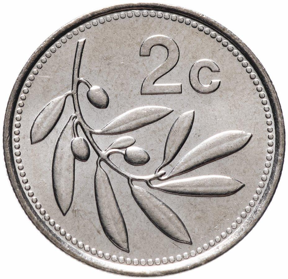 купить Мальта 2 цента (cents) 1993