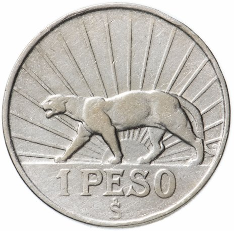 купить Уругвай 1 песо 1942