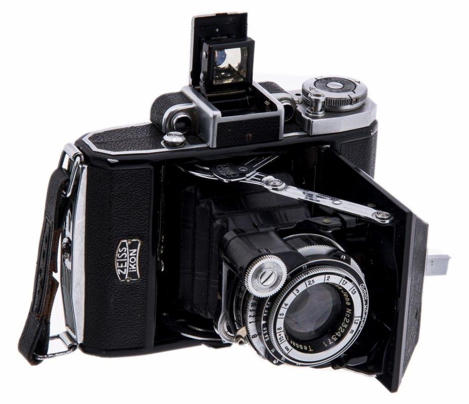 """купить Фотоаппарат складной, пленочный """"Zeiss Ikon Super Ikonta 531"""" с объективом Carl Zeiss Jena Tessar 1:35 f=7,5 cm, металл, кожа, Германия, 1936 г."""