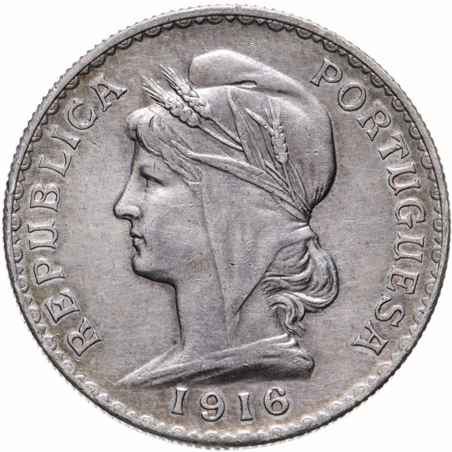 купить Португалия 1 эскудо 1916