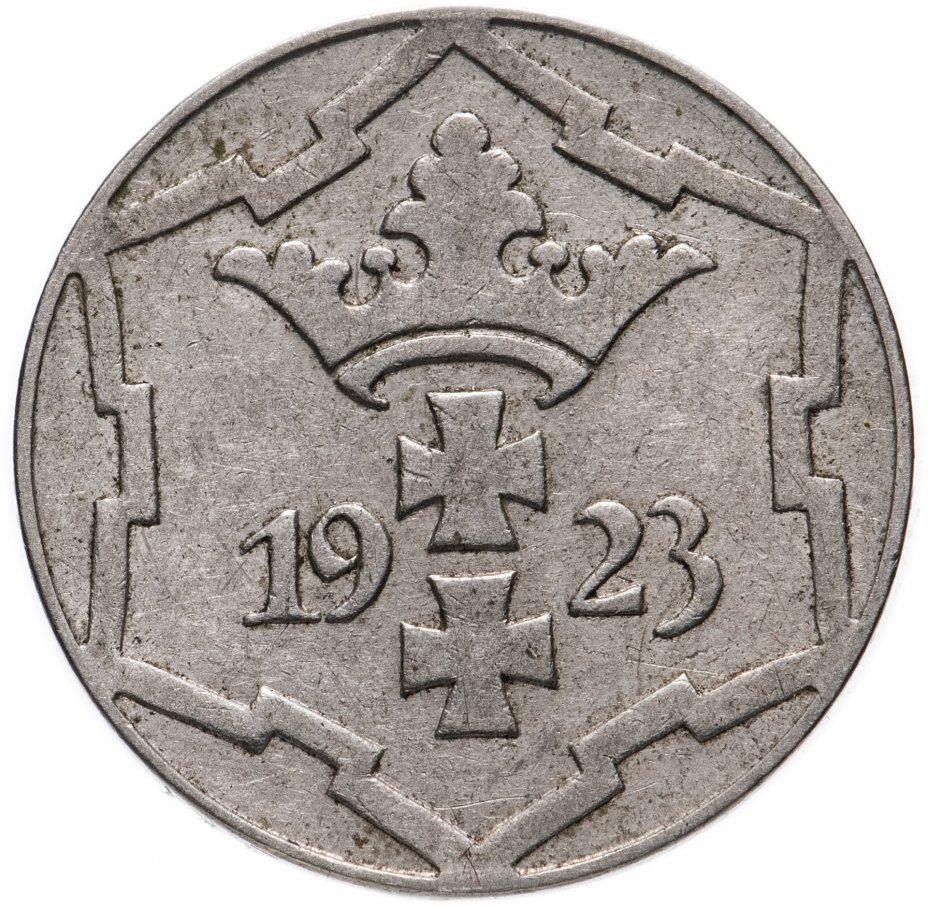 купить Данциг 10 пфеннигов (pfennig) 1923