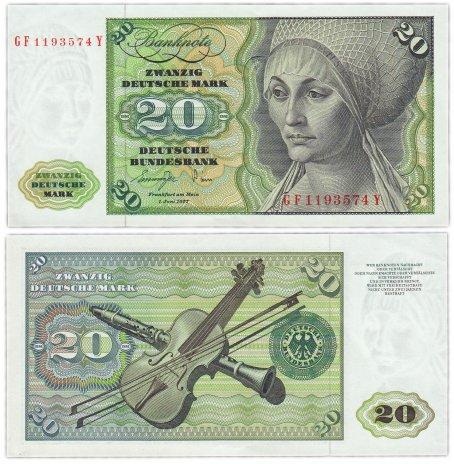 купить Германия ФРГ 20 марок 1977 (Pick 32b)
