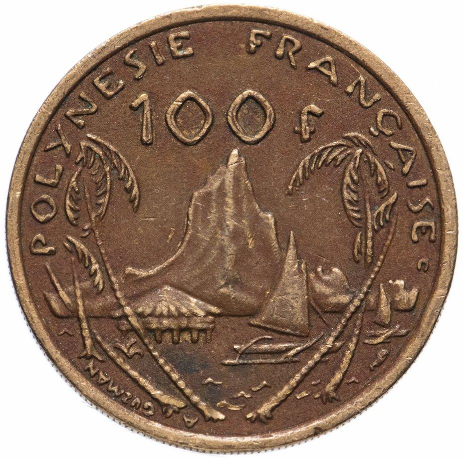 купить Французская Полинезия 100 франков 1976-2005, случайная дата