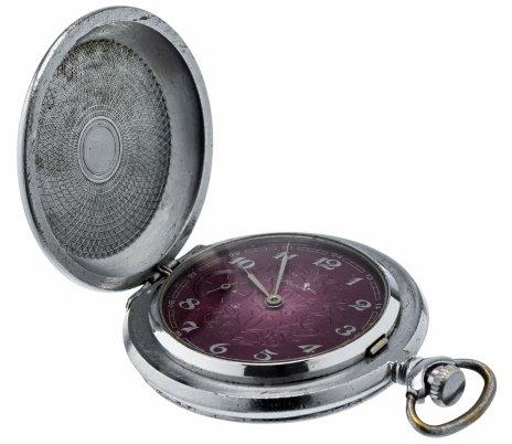купить Часы карманные «Молния», сталь, Челябинский часовой завод, СССР, 1970-1980 гг.