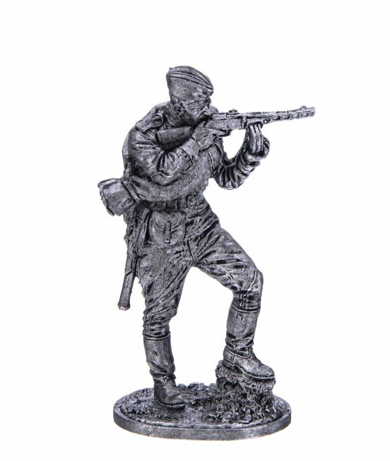 купить Оловянный солдатик, Автоматчик пехоты Красной Армии, Россия, 2021