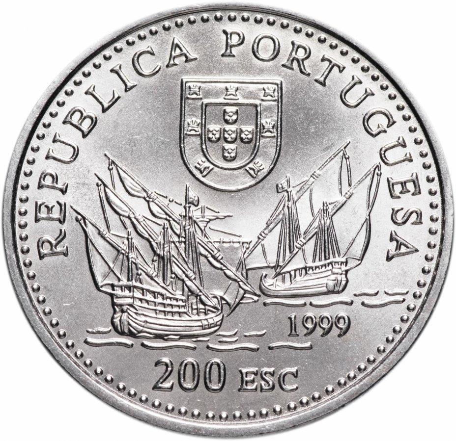 """купить Португалия 200 эскудо (escudos) 1999   """"Дуарте Пачеко Перейра"""""""