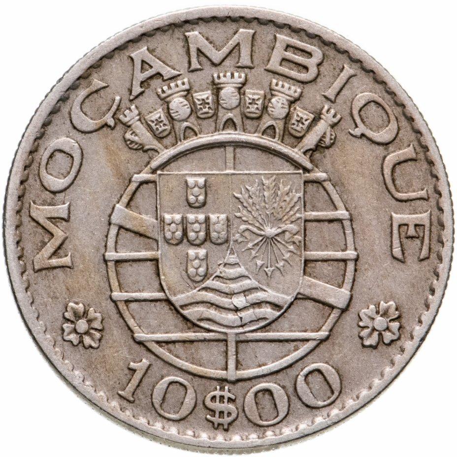 купить Португальский Мозамбик 10 эскудо 1970