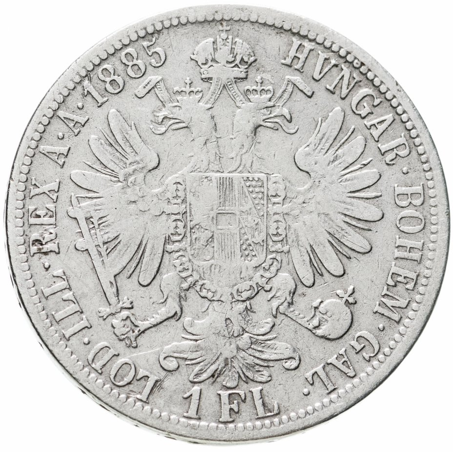 купить Австрия 1 флорин (florin) 1885