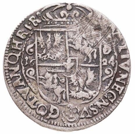 """купить Речь Посполитая, Великое Княжество Литовское, Сигизмунд III """"Ваза"""" , Орт (1/4 талера) 1624"""