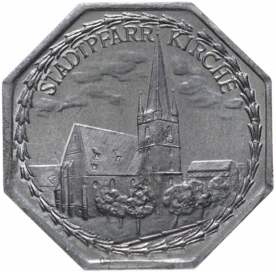 """купить Германия (Нюрнберг) нотгельд  20 пфеннигов 1921 """"Городской приход"""" трамвайный жетон"""