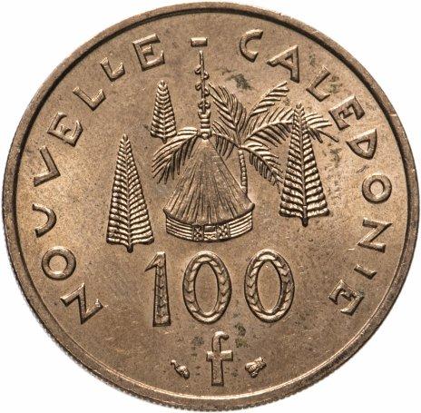 купить Новая Каледония 100 франков (francs) 1999