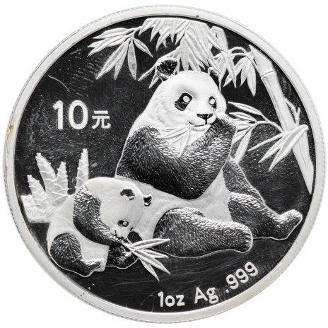 купить Китай 10 юаней 2007 Панда